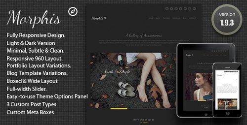ThemeForest - Morphis - Responsive WordPress Theme