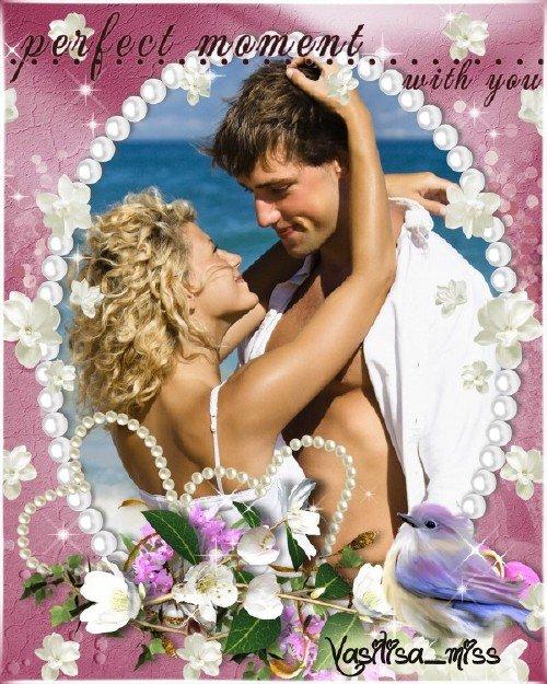 Романтическая рамка - Лучшие моменты любви