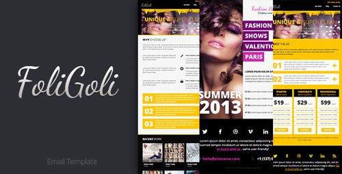ThemeForest - FoliGoli Email Template