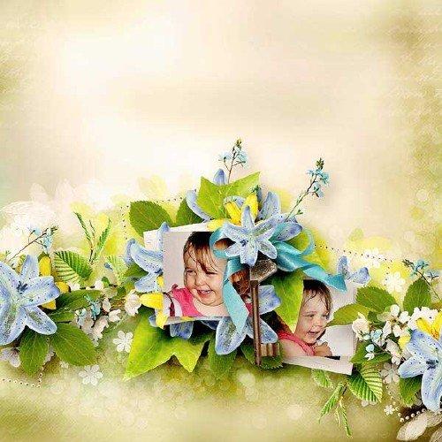 Цветочный скрап-набор - Регенерация
