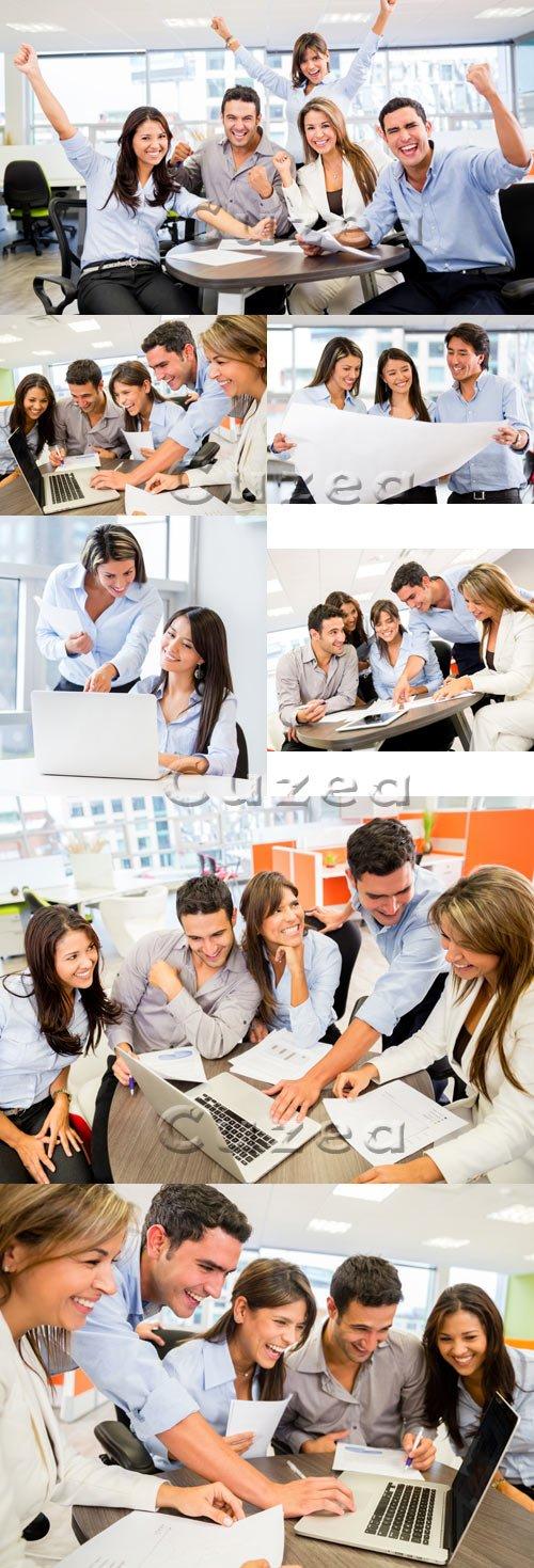 Stock photo - Команда людей для бизнеса/  Business people team