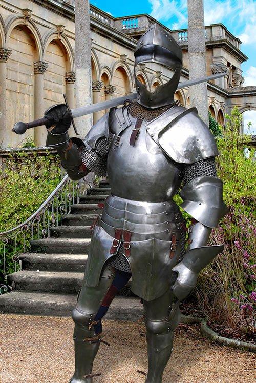 Настоящий рыцарь - шаблон для фотошопа