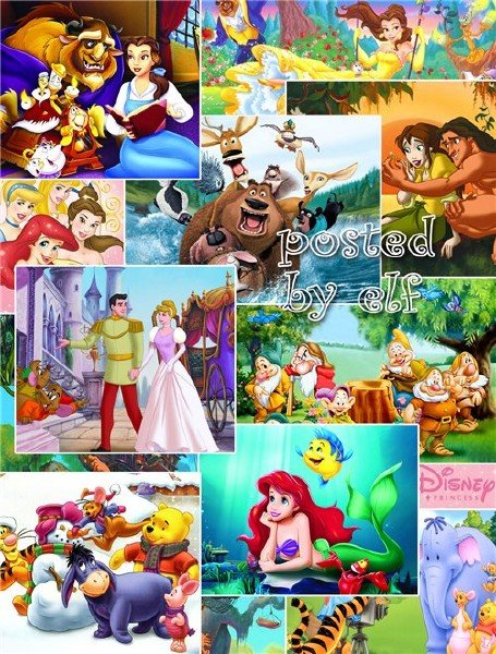 Детские фоны из мультфильмов