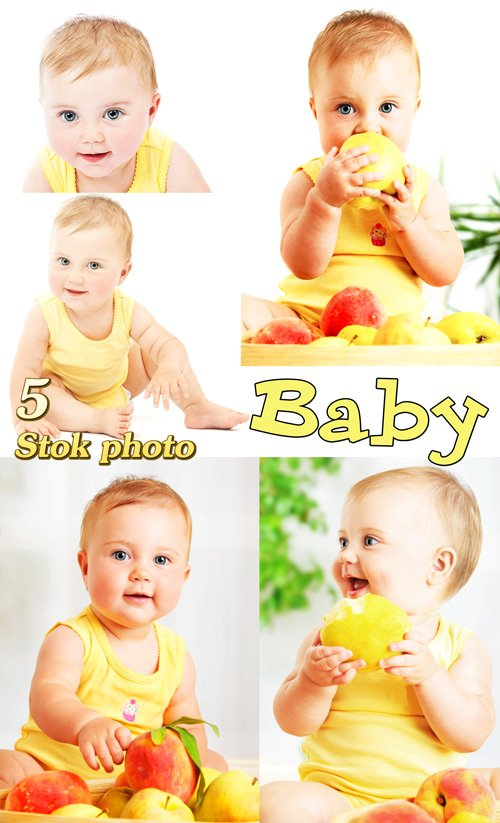 Маленький ребенок, малыш, дети - Сток фото