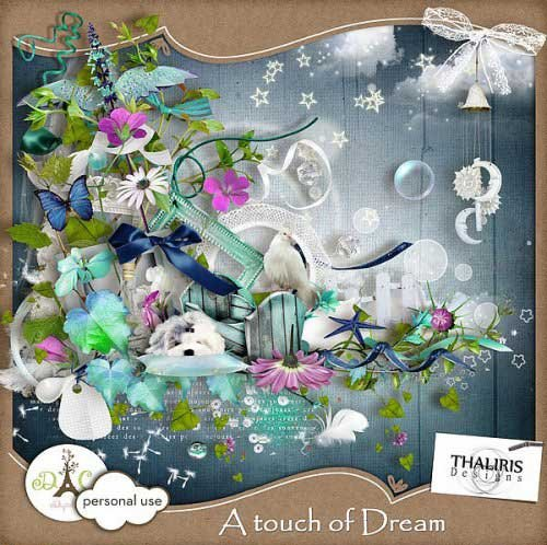 Волшебный скрап-набор - Прикоснись к мечте