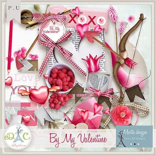 Романтический скрап-набор - Мой Валентин