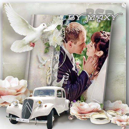 Фотокнига для оформления свадебных фото - Особый день