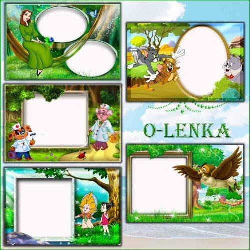 Рамки для фотошопа - Сборник для детей