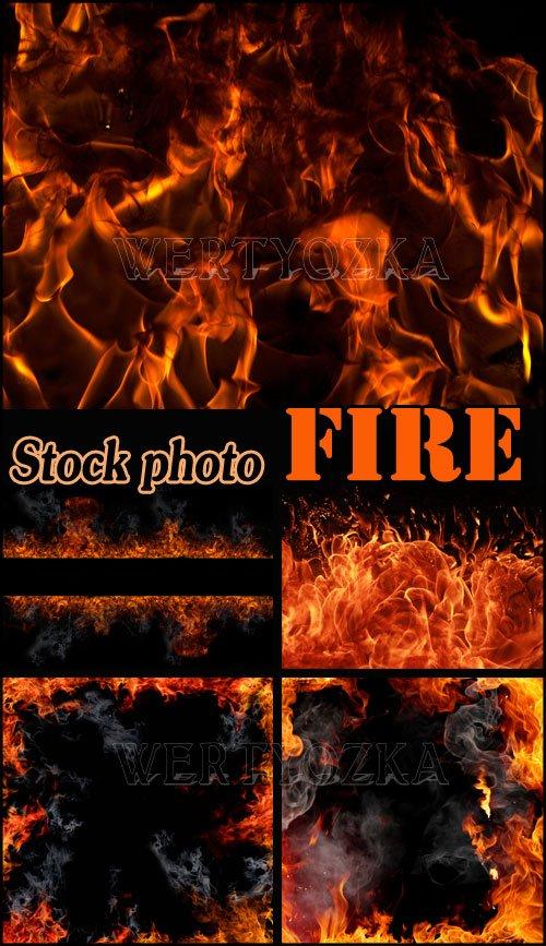 Огонь, фоны с горящим пламенем / Fire, with fire backgrounds