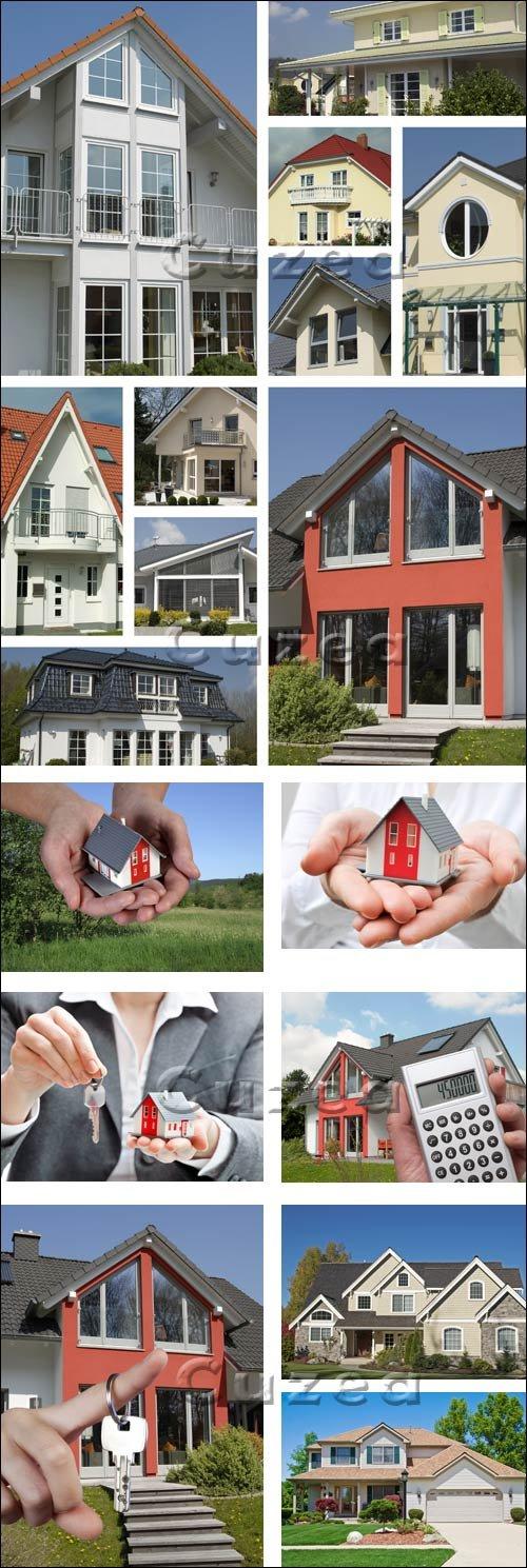 Покупка новых домов / New houses - Stock photo