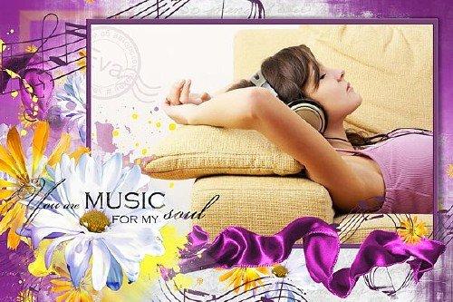 Рамочка для фотошоп - Твоя музыка