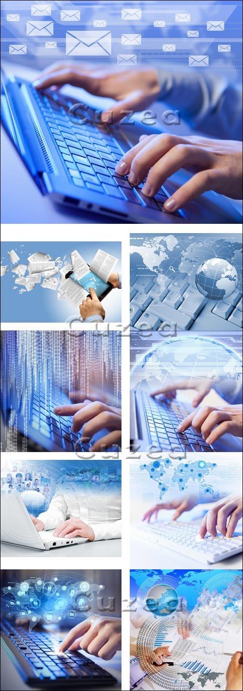 Компьютерная клавиатура / Computer keyboard - stock photo