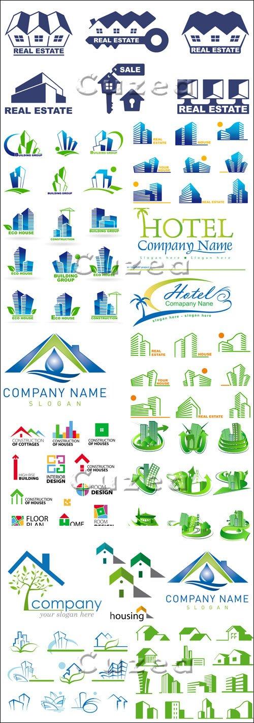 Бизнес логотипы, 5 / Business logo, part 5 - vector stock