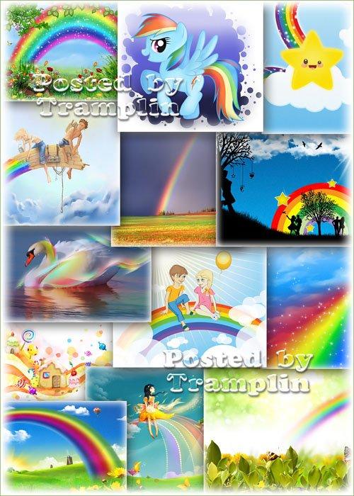 Клипарт – Такая разная радуга