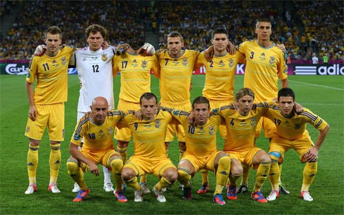 Сборная Украины по футболу - мужской шаблон
