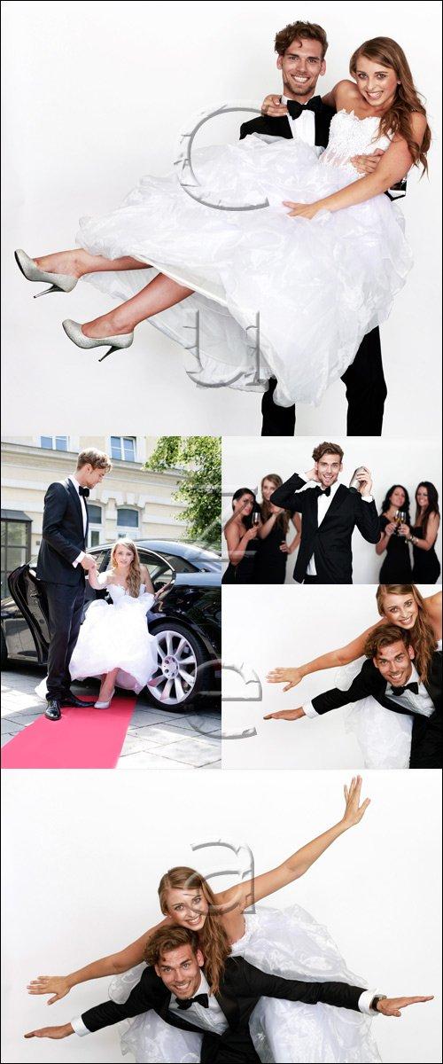 День свадьбы, 5 / Wedding day, 5 - stock photo