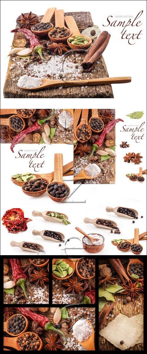 Специи, часть 3 / Spices, part 3 - stock photo