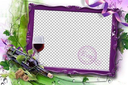Рамка для фото - Аромат вина