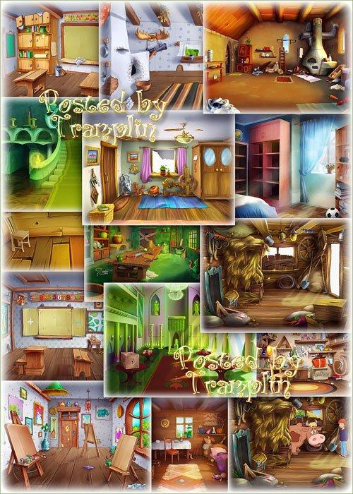 Детские фоны – Внутри помещения