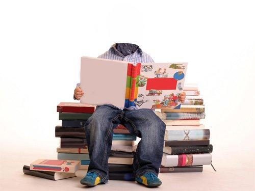 Шаблон psd - Подготовка к школе