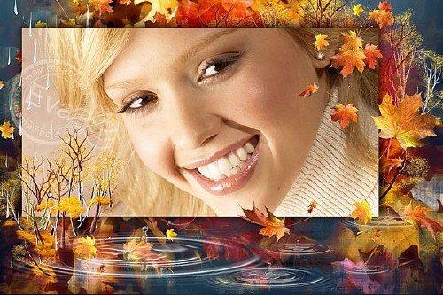 Фоторамочка - Моя золотая осень