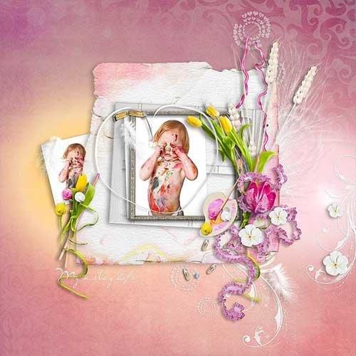 Романтический скрап-комплект - Художественная душа