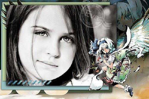 Детская рамка для фото - Аниме