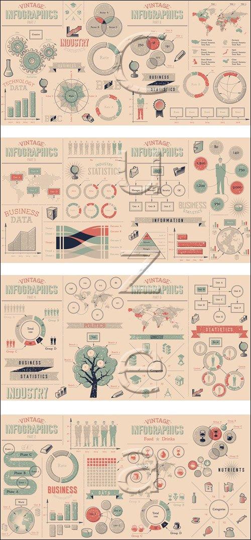 Infographic elements, 78 - vector stock