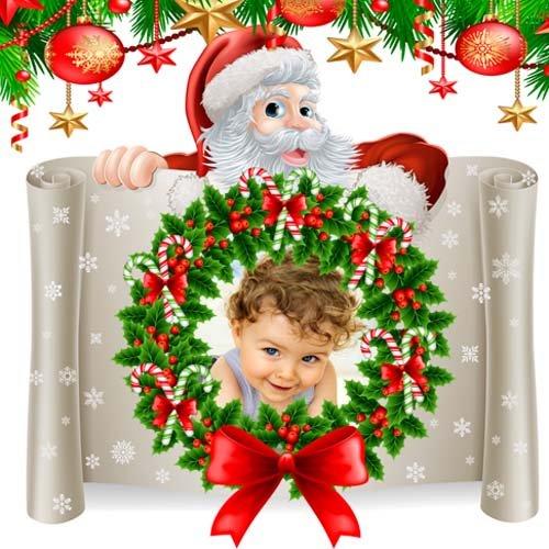 Детская рамка - Новый Год приближается