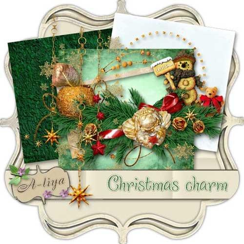 Рождественский скрап-комплект - Рождественское очарование