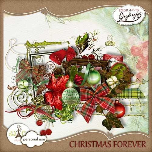 Рождественский скрап-комплект - Вечность Рождества