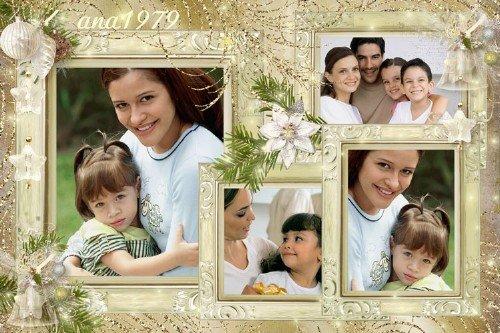 Рамка для фотошопа – Моя семья