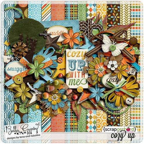 Декоративный скрап-комплект - Cozy Up