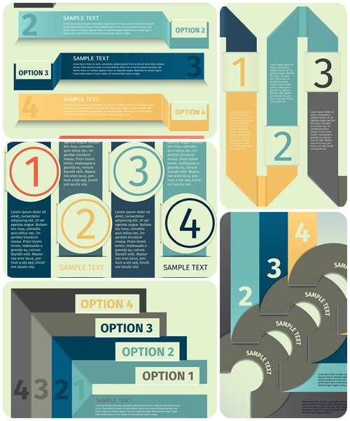 Infographic vector elements, part 89 - vector stock