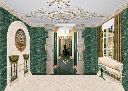 Клипарт Кукольный дворец 06 Малахитовая комната