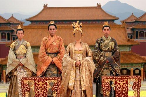 Шаблон для девушек - Императрица Китая