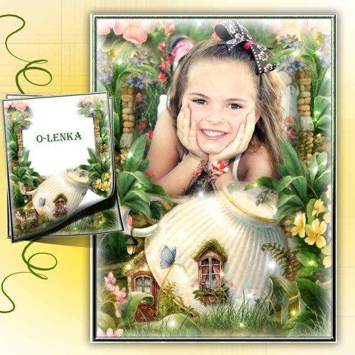 Детская фоторамка - Сказочный домик
