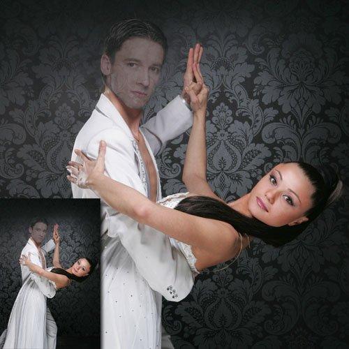Шаблон для мужчин - В танце с девушкой