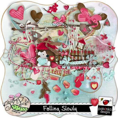 Романтический скрап-комплект - Falling Slowly