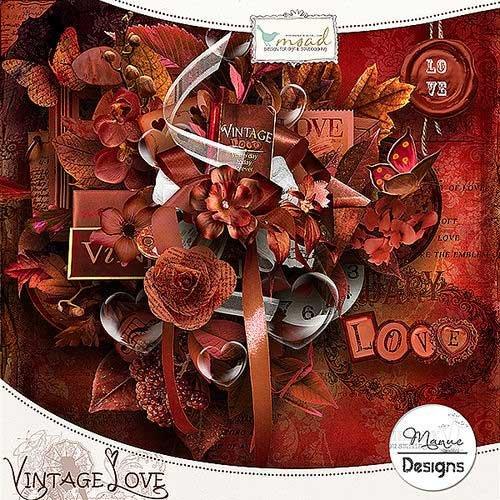 Романтический скрап-комплект - Винтажная любовь