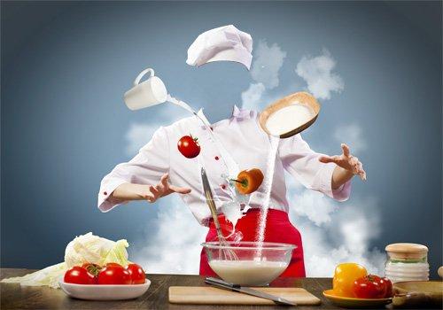 Женский шаблон - Маг на кухне