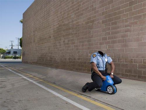 Шаблон мужской - Полиция в погоне