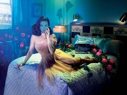Шаблон psd - Фотосет романтическая комната