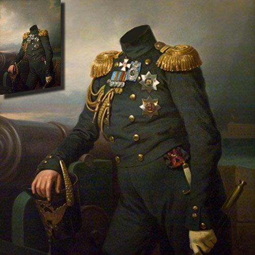 Адмирал флота XIX века - Шаблон мужской