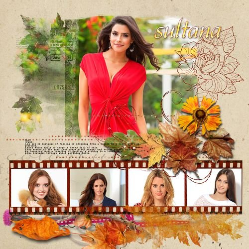 Осенняя рамка для фотографий - Осенние кадры