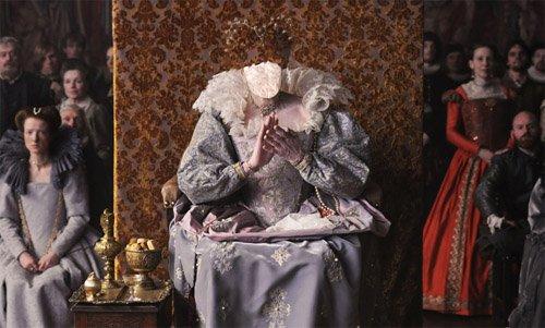 Шаблон psd - Дама в старинном наряде