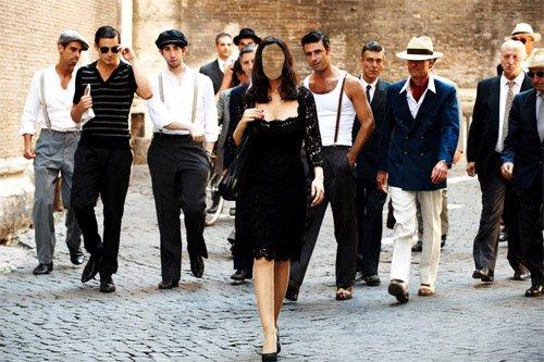 Шаблон женский - Взгляды мужчин