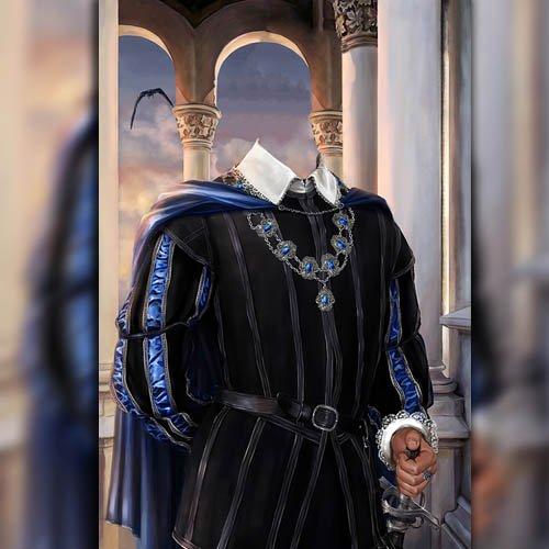 Шаблон для фотошопа - Наряд герцога