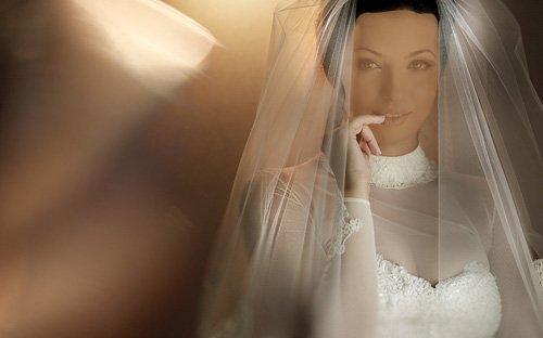 Прекрасная невеста - шаблон psd женский