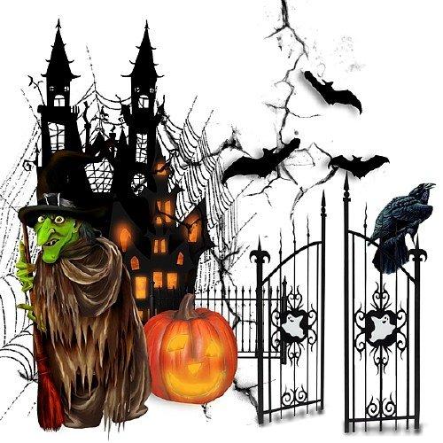 Клипарт на прозрачном фоне - Мой веселй Хэллоуин